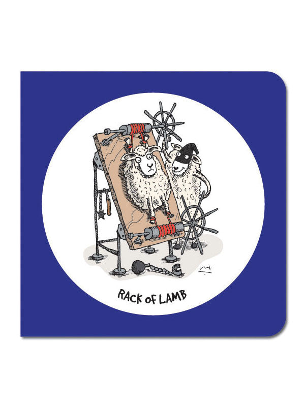 Rack of Lamb Greeting Card