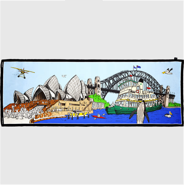 Silk Scarf: Sydney Harbour