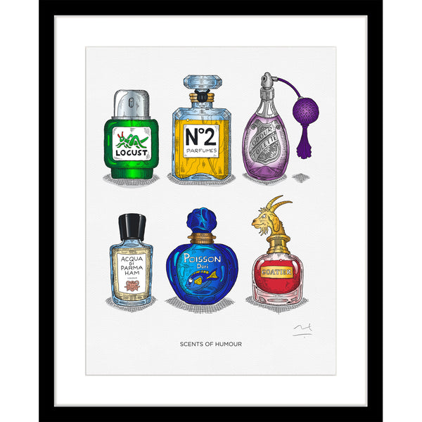 Limited Edition Art Print: Scents of Humour