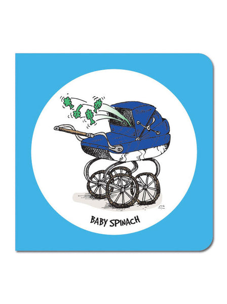 Baby Spinach Greeting Card