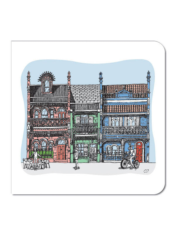 Sydney Terrace Houses 2 Greeting Card