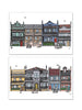 Tin of 10 Cards & envelopes - Inner City Collection