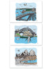 Tin of 10 Cards & envelopes - Sydney Harbour Collection