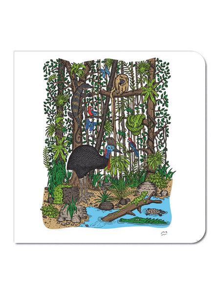 Greeting Card: Tropical Rainforest