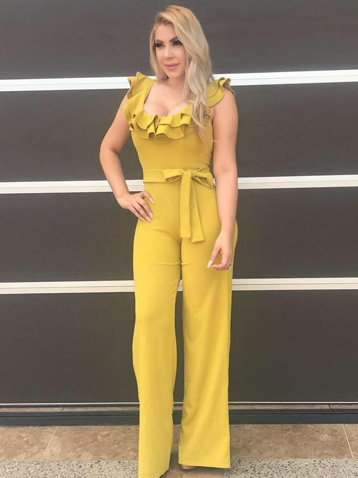 953b4ebe5df MAURA  Jumpsuit - Bright Yellow – That s So Vogue Boutique
