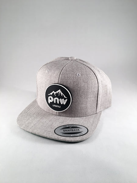 PNW Hat - Light Heather