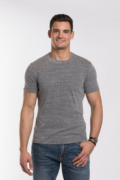 Jackson Slub Crew Neck - Medium Heather