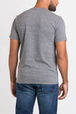 Sharply Vintage Athletic Crew Neck-Medium Heather