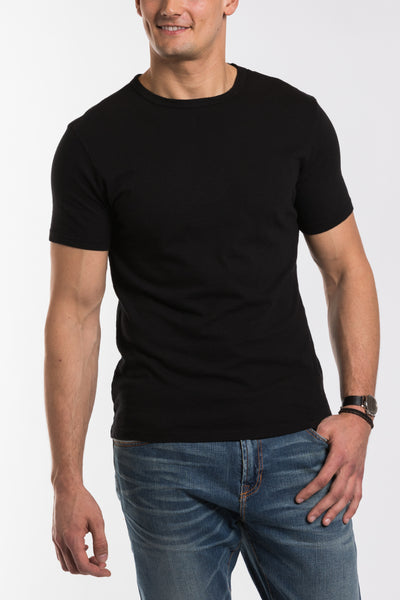 Jacob Crew Neck - Black