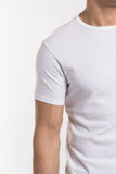 Jacob Crew Neck - White -compact