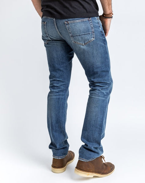 Mick Straight Jean - Medium Wash