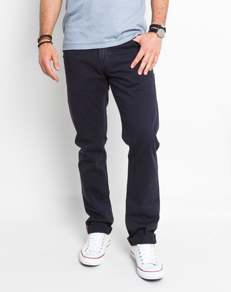 Mick Slim Straight Pant - Navy