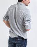 Button Down Shirt - Light Grey