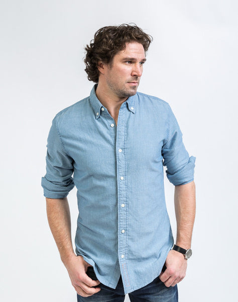 Button Down Shirt - Light Blue
