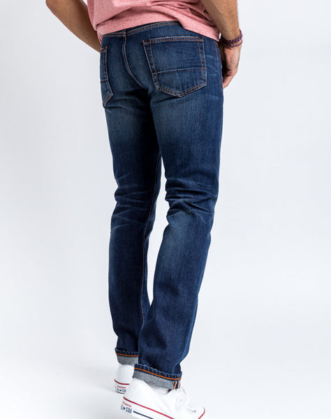 Jim Slim Jean - Dark Wash