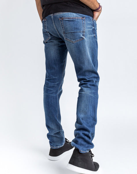 Jim Slim Jean - Medium Wash
