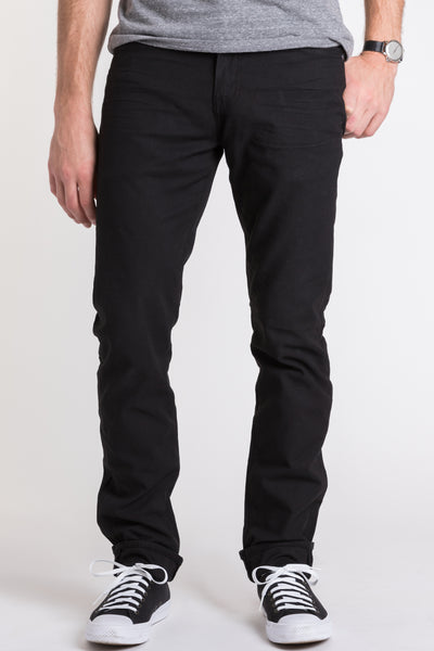 Hunter Twill 5-Pocket Pant - Black