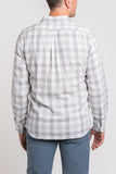Durham Double Cloth Shirt – Heather Grey Gingham