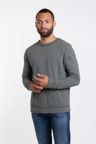 MT. Adams Crew Neck Pullover - Deep Green