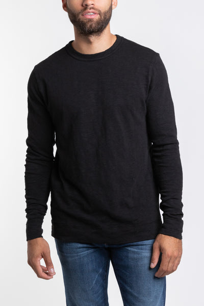 MT. Adams Crew Neck Pullover - Black