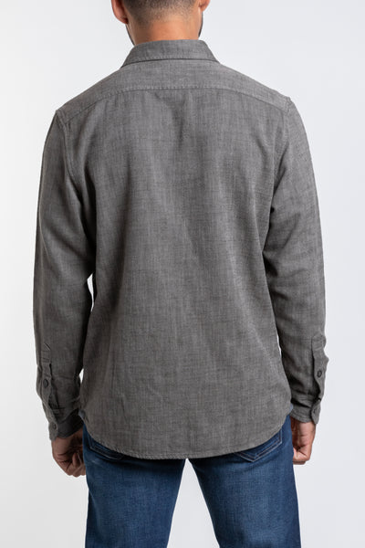 Hopsack Loose Twill Utility - Charcoal Heather