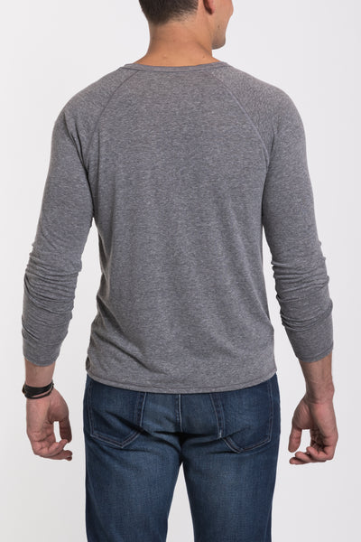 Fremont Henley - Medium Heather
