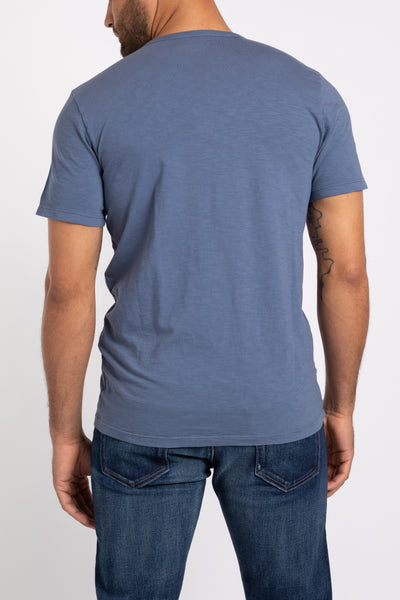 Jacob Crew Neck - Blue