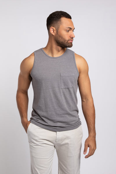 Ballard Bro Tank - Medium Heather