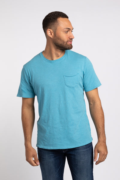 Elliott Pocket Tee - Teal