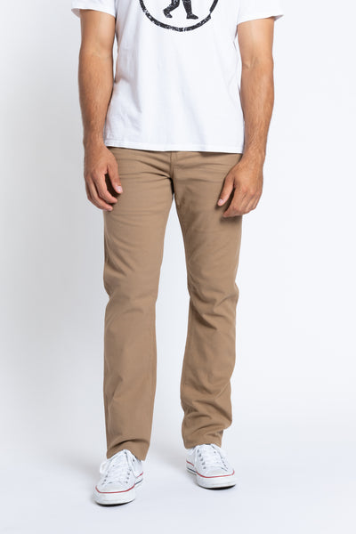 Hunter Twill  5-Pocket Pant - Chestnut