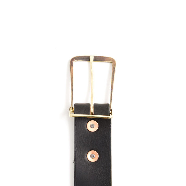 Workshop Belt - Black/Brass