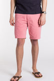 Stretch Chino Short - Sunwashed Red