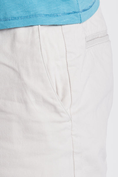 Stretch Chino Short - Stone
