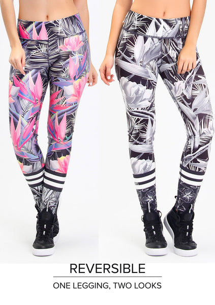 Reversible Legging - Workout Bottoms