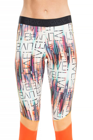Ripped Effect Legging