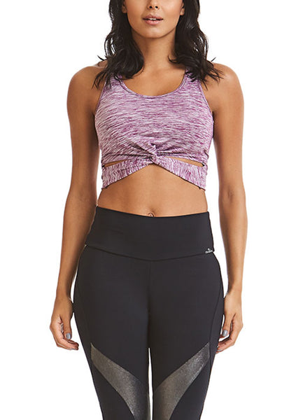 Twist Crop - Sports Bra Top