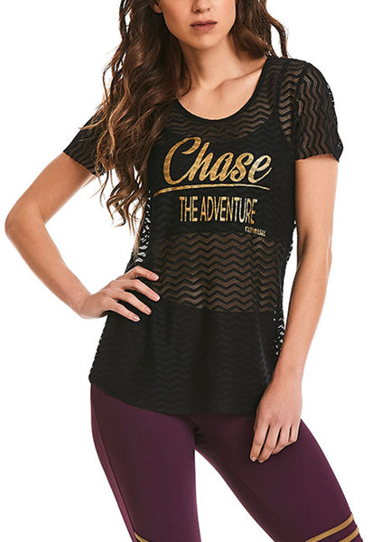 Adventure T-Shirt - Workout Tops