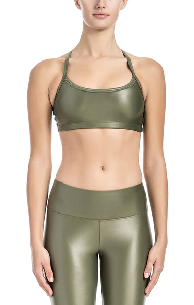 Yasmin Adjustable Strap Bra - Sports Bra Top