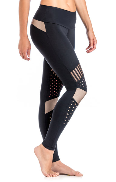 Rock Laser Legging - Workout Bottoms