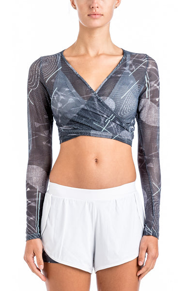 Tie Back Top - Sports Bra Top