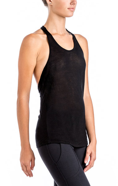 Exposed Tank - Workout Tops