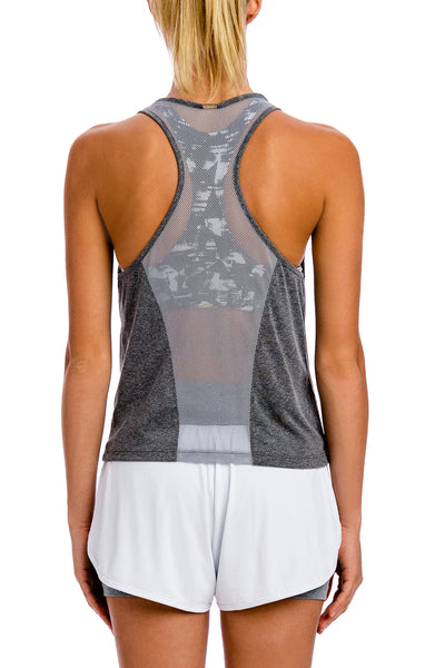 Fresh Net Tank - Workout Tops