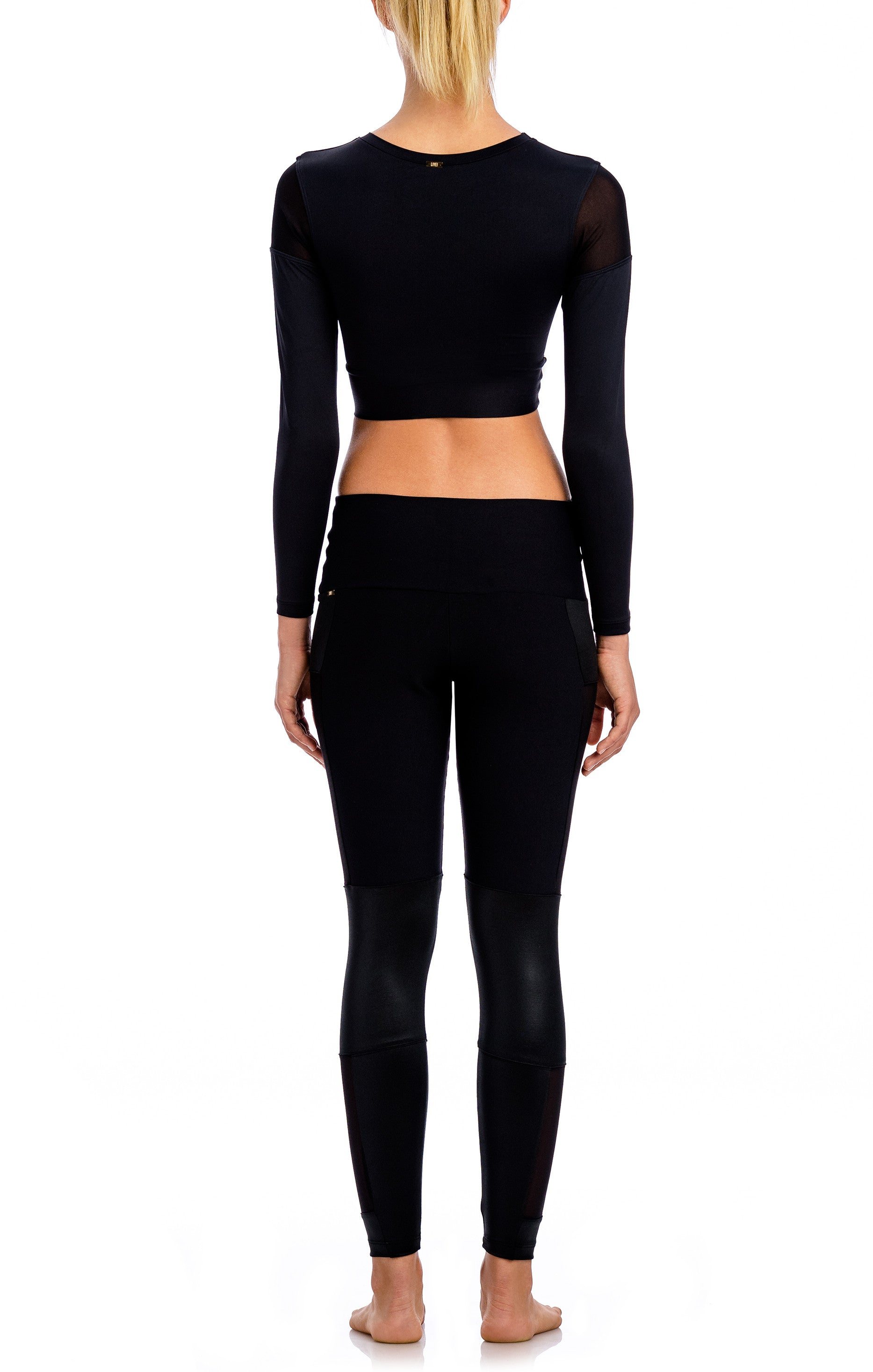 Bio Dance Cropped L/S Top - Workout Tops