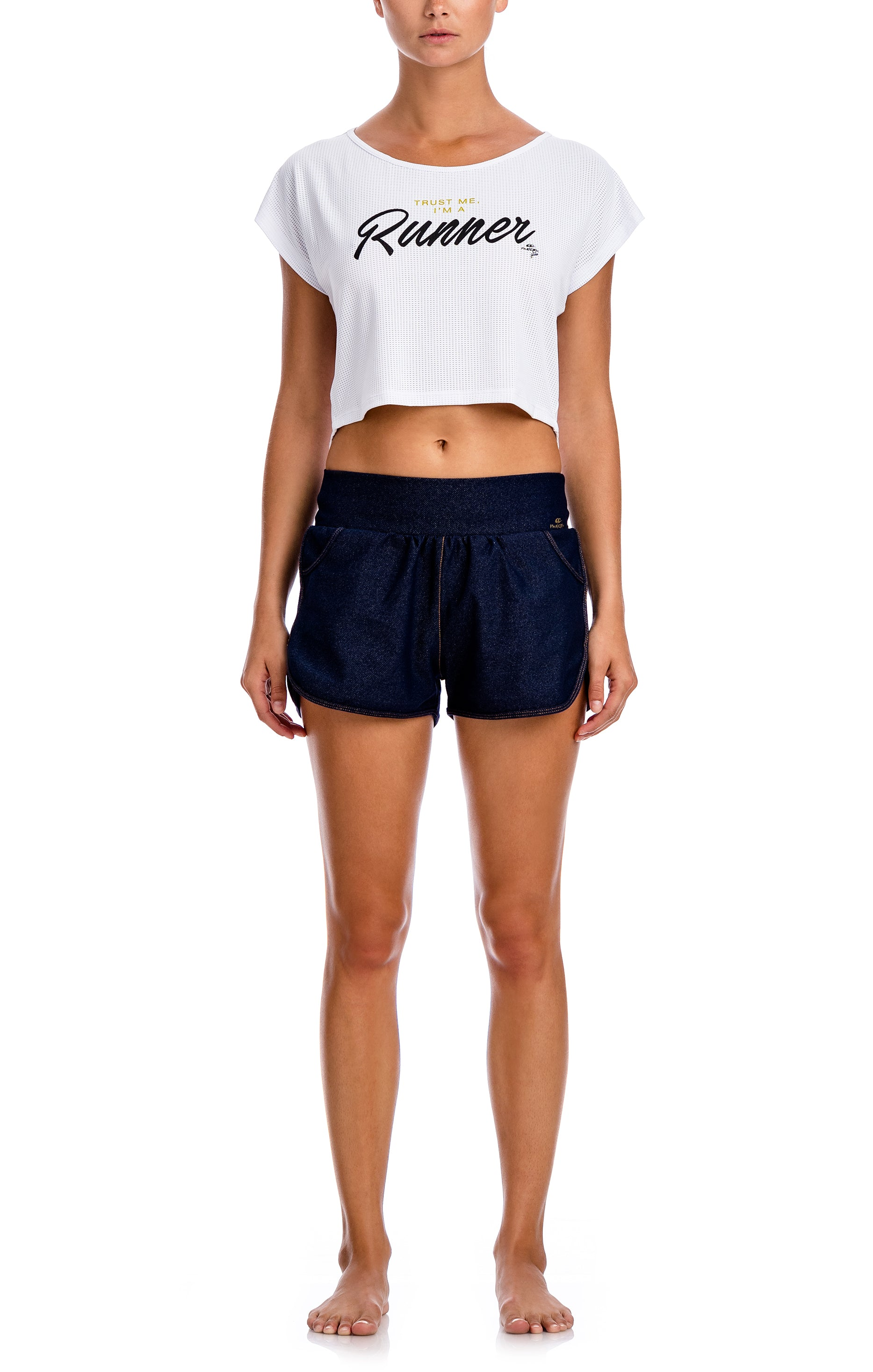 Smart Crop Top - Workout Tops