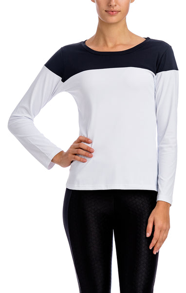 Camiseta L/S Top - Workout Tops