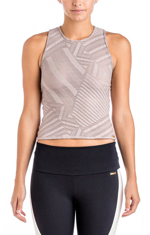 Sara Mesh Back Top