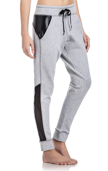 Grey Joggers - Activewear Pants