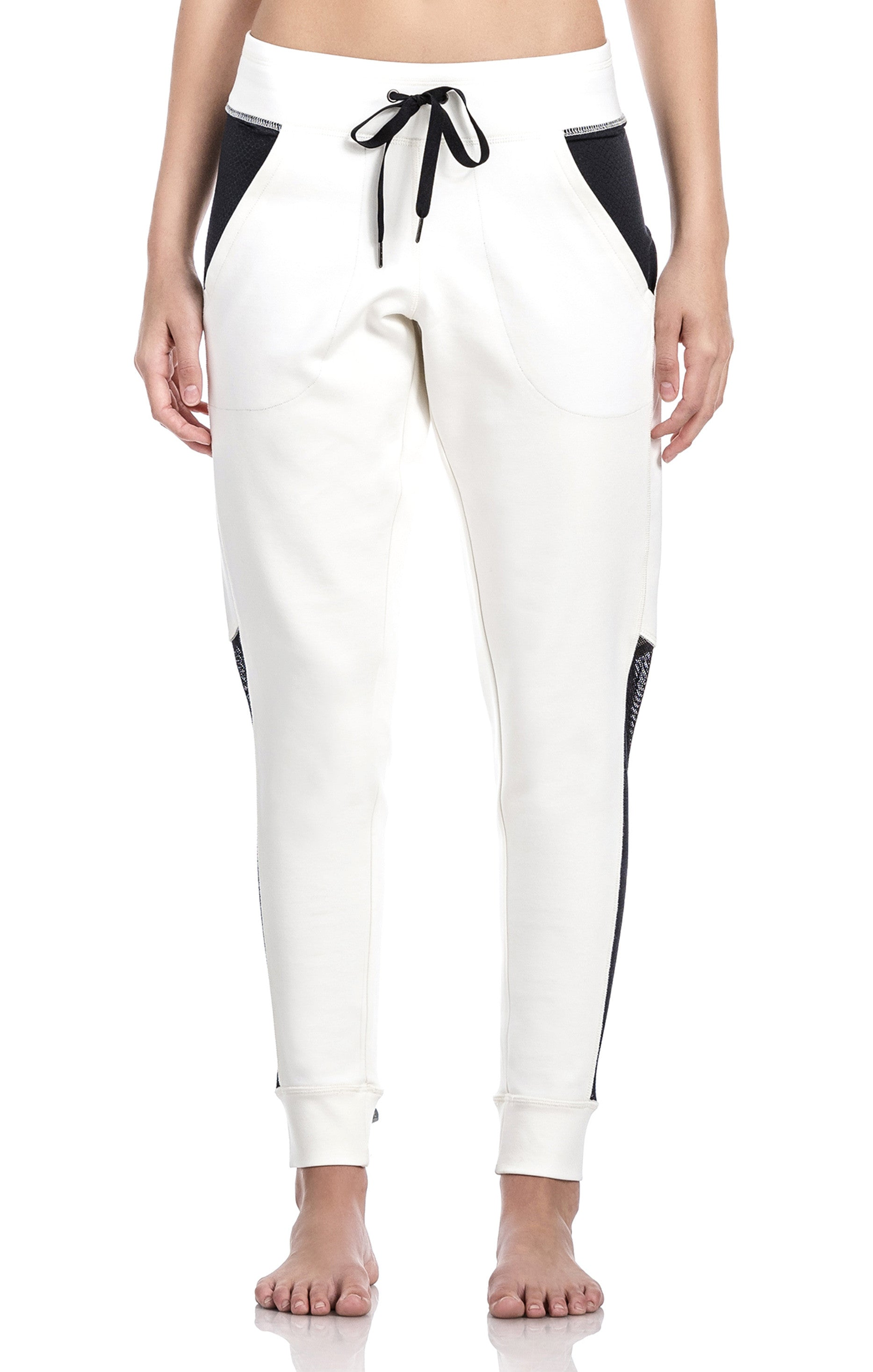 Off White Joggers - Activewear Leggings