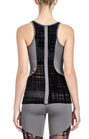 SIENNA Relaxed Graphic Racer Back
