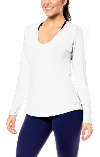 Magna Long Sleeve Top - Workout Tops